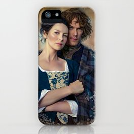 Claire and Jamie iPhone Case