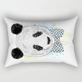 Hello Panda Rectangular Pillow