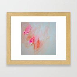 the sky in june Framed Art Print