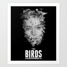 THE BIRDS Art Print