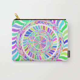 Rainbow Circles Art Carry-All Pouch