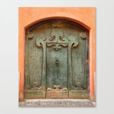 Front door I Canvas Print