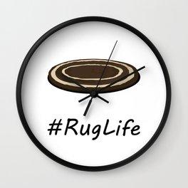 #RugLife Wall Clock