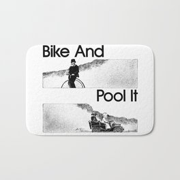 Bike And Pool It Bath Mat