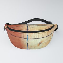 Vintage Leather Fly Swatter Fanny Pack