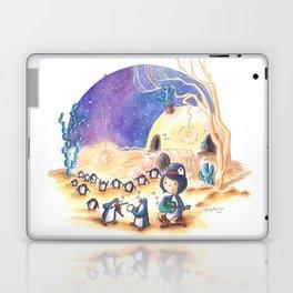 PenguinGirl and her Music Maker Penguins Bring Love, Laughter and Light in the Desert Laptop & iPad Skin