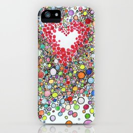Pop Love Intoxication iPhone Case