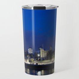 Tower of London at night Travel Mug