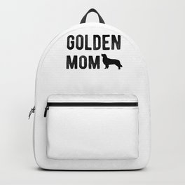 Golden Mom Golden Retriever Dog Puppy Goldie Lover Backpack