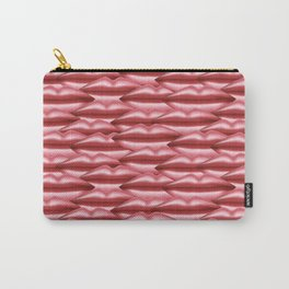 Glossy pink lips Carry-All Pouch