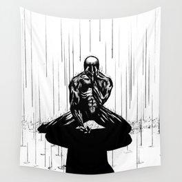Black Spider-Man Wall Tapestry