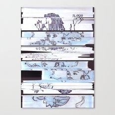 Autistic Remix #002 Canvas Print
