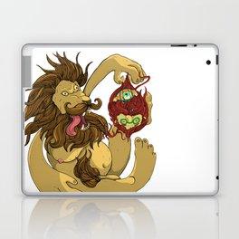 Lion Playing Laptop & iPad Skin