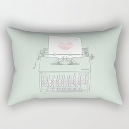 The Chemistry of Love Rectangular Pillow