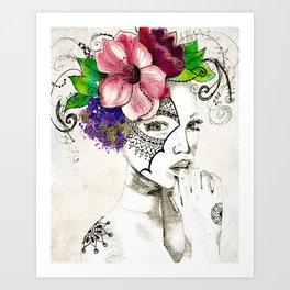 Curiouser & Curiouser Art Print