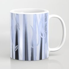 Blue Forest Abstract Mug