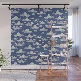 Clouds - Dream Big and Aim High Wall Mural