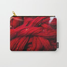 Red Dyeing Carry-All Pouch