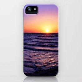 Pleasure Pier Sunrse iPhone Case