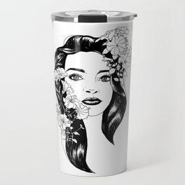 Larisa portret Travel Mug