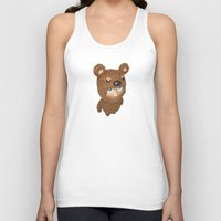 furry Tank Tops featuring Furry baby by Metin Seven