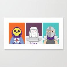Cute Villains Set 1 Canvas Print