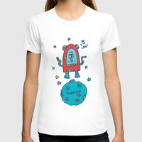 spaceman T-shirts featuring spaceman by PINT GRAPHICS
