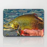 trout iPad Cases featuring Trout by Edward M. Fielding