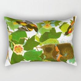 Baltimore Oriole Bird Rectangular Pillow