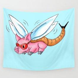 Meganeura Piggy Wall Tapestry