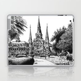 St. Louis Cathedral, New Orleans Laptop & iPad Skin