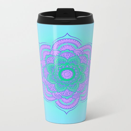NamasteII Metal Travel Mug