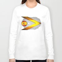 spain Long Sleeve T-shirts featuring Spain by ilustrarte
