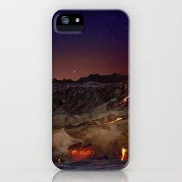 Kilauea Volcano Lava Flow. 6 iPhone Case