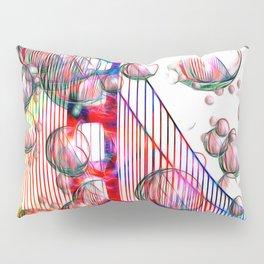 Golden Gate Bubbles Pillow Sham