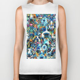 Dog Lovers Delight - Sharon Cummings Biker Tank