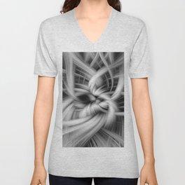 Abstract Unisex V-Neck