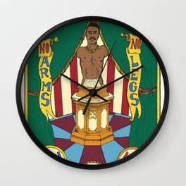 The Living Torso Wall Clock