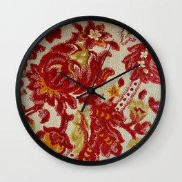 Fuscia Persuasion  Wall Clock