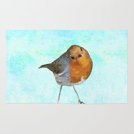 Robin -The visitor Rug