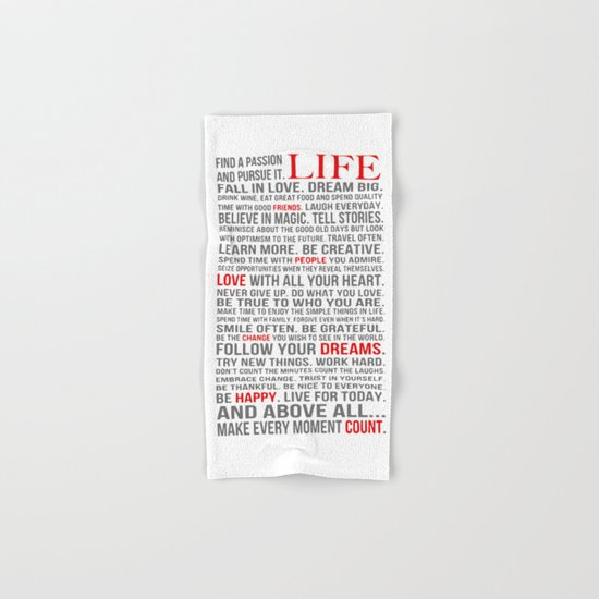 All about life Hand & Bath Towel