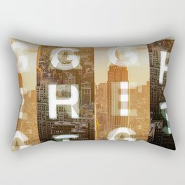 GEARS of NYC Rectangular Pillow
