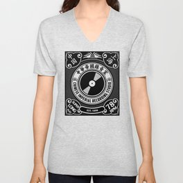 Chinese Imperial Recording Studio Unisex V-Neck