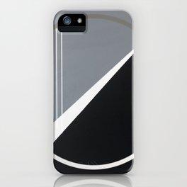 London - circle graphic iPhone Case