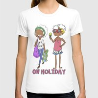 holiday T-shirts featuring Holiday by Coily and Cute