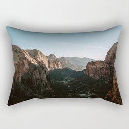 Angels Landing Zion Rectangular Pillow