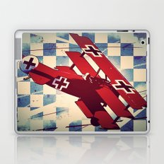 Fokker triplane (Red Baron) Pop Art Laptop & iPad Skin