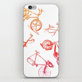 summer bikes iPhone Skin
