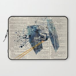 Art on dictionary #Tie fighter Laptop Sleeve