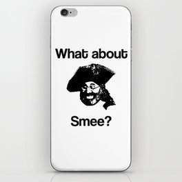 What about Smee?! iPhone Skin